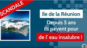 HALTE A L'EAU POLLUÉE DE LA RÉUNION